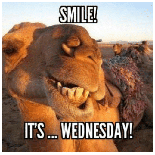 smile its wednesday memes