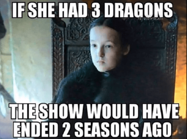 new game of thrones dragon memes