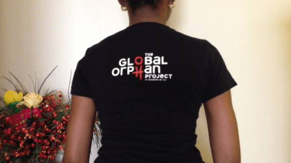 Global Orphan Project Shirt Back