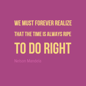 Nelson Mandela Quote, Make a Difference