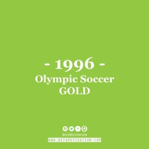 positive facts about nigeria - winning olympic gold medal in soccer atlanta, Make a Difference