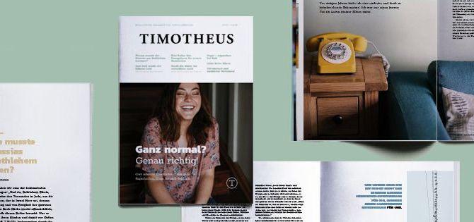 Timotheus Magazin #33 - Einblick