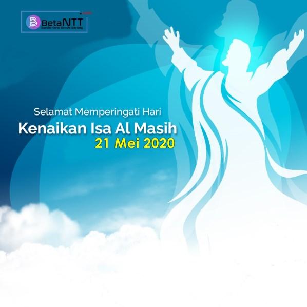 Kumpulan Ucapan Selamat, Gambar, Kata Mutiara Kenaikan Isa Almasih - Kenaikan Yesus Kristus ke Surga 2020