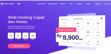 Daftar Penyedia Web Hosting di Indonesia TERBAIK