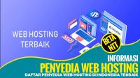 Daftar Penyedia Web Hosting di Indonesia 2021