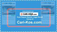 Kost Depok Sleman Jogja Murah Hanya di cari-kos.com