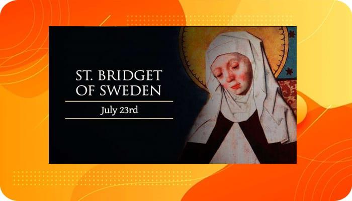 Lima Belas Doa Kepada St Bridget Dari Swedia