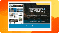 Free Download Newsmag Nulled – Newspaper & Magazine WordPress Theme (Activated)