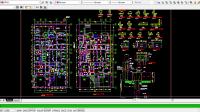 Download Gambar Rencana Pondasi dan Detail Pondasi DWG AutoCAD