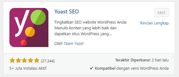 Plugin Yoast SEO 16.3