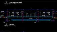 Download Gambar Jembatan Gantung Lengkap DWG AutoCAD