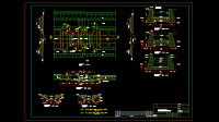 Download Gambar Bangunan Ukur pada Bendungan DWG AutoCAD