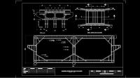 Download Gambar Box Culvert untuk Irigasi Bendungan DWG AutoCAD