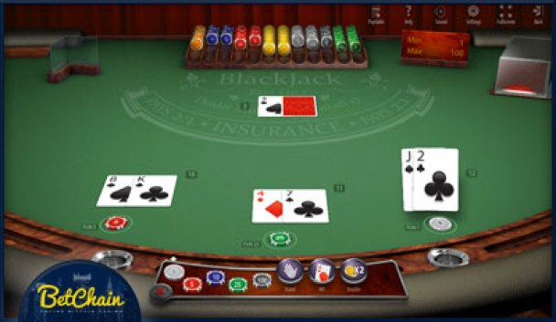 Blackjack betchain