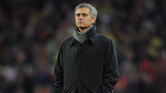 Mourinho looks on helpless as his Real Madrid side are thrashed 5-0 by Barcelona
