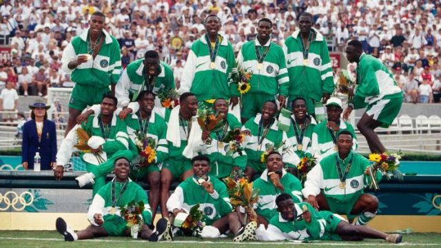 The 1996 Nigeria side made history and are seen as heroes.