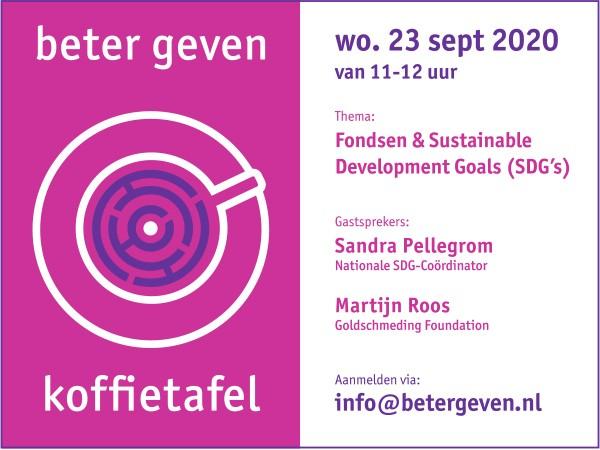 Vijfde editie online Koffietafel