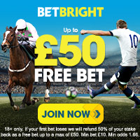 Betbright – £50 Free Bet