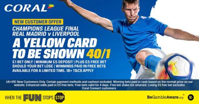 Coral Champions League New Customers Offer