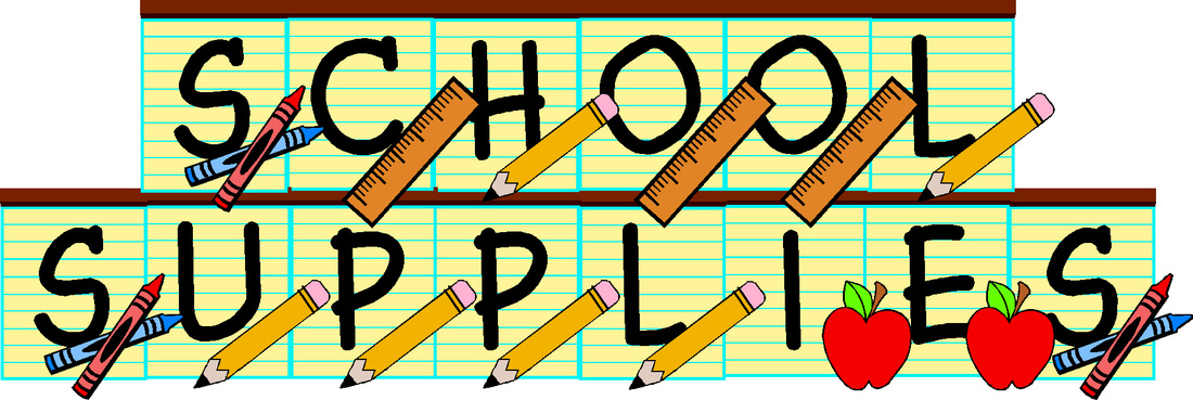 School Supply List Grade 1
