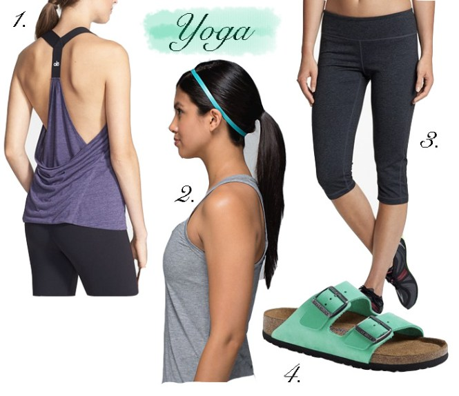 what to wear to yoga, summer workout outfits, how to look chic at the gym, cute yoga clothes