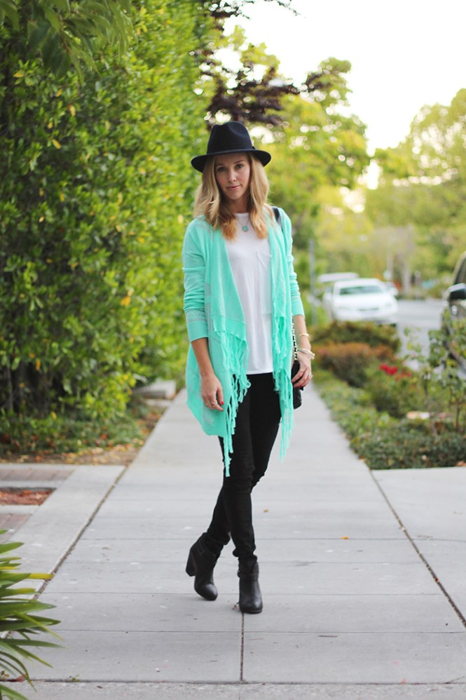 rag and bone jeans, j.crew fedora, black fedora, rang and bone boots, harrow bootie, casual outfit ideas, stylish mom