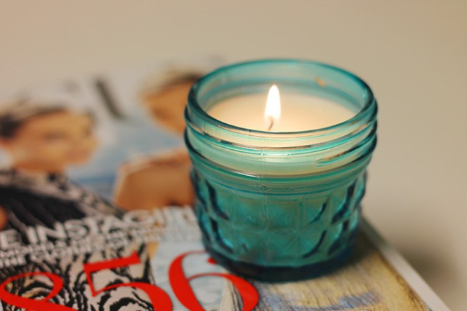 september issue Vogue, cute candle