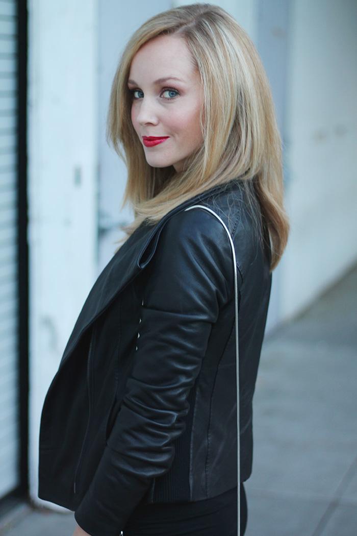 black leather jacket, leather jacket, vince jacket,