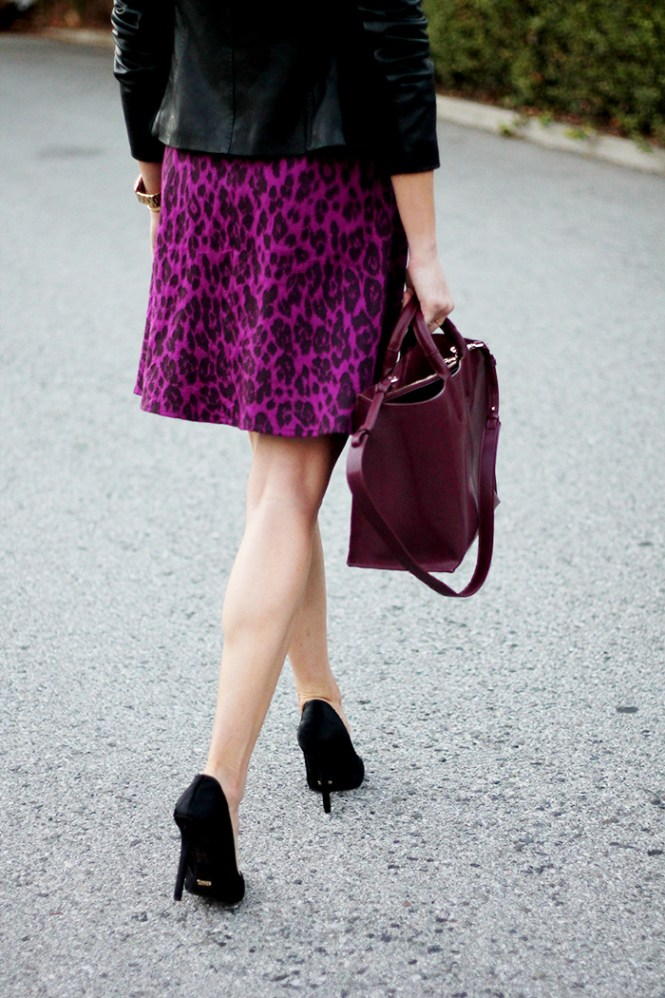 zara purple bag, plum bag, Fall 2014 bag trends