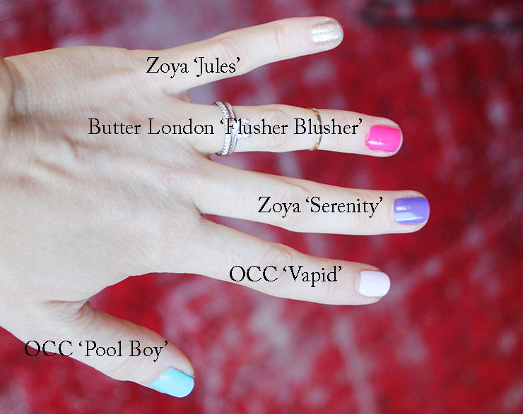 5-free nail polishes to try
