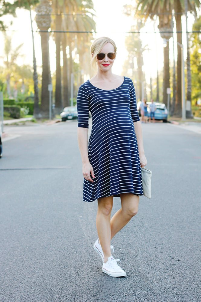 casual maternity style