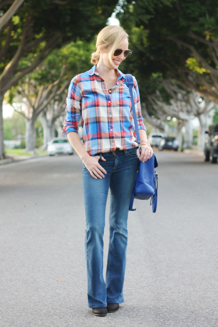 plaid and flares