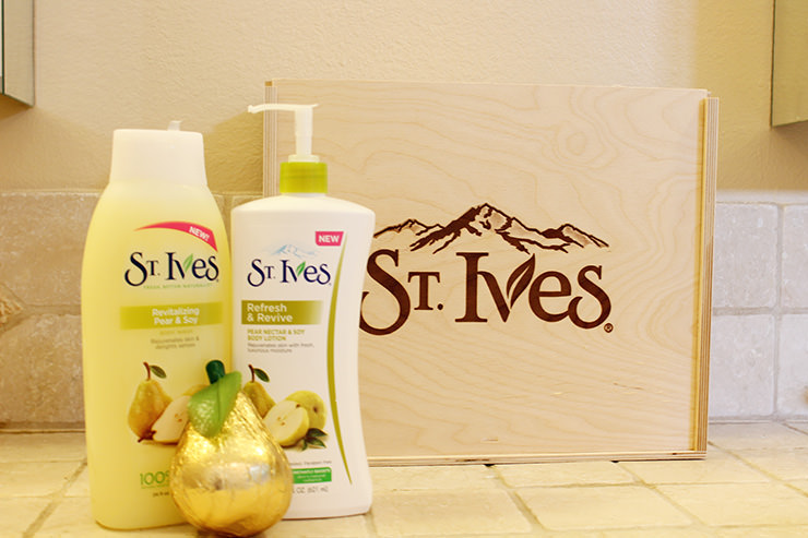 St Ives Pear and Soy