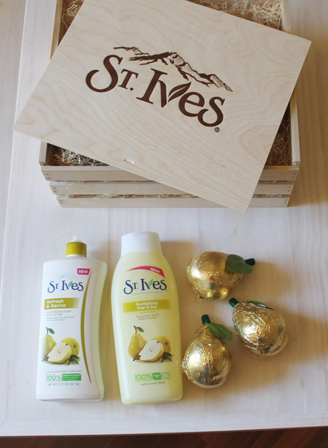 St Ives pear lotion