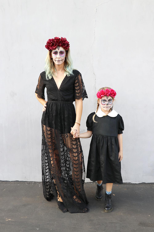 dia de los muertos make up kids