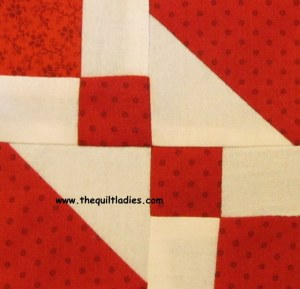 How to make a jewel box quilt block