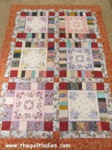 making a hankie quilt