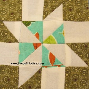 Meteor quilt pattern by The Quilt Ladies