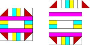simple quilt pattern block