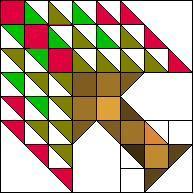 Thomas Edison Tree Quilt pattern block
