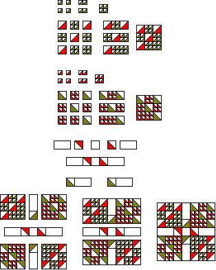 Iowa state quilt pattern