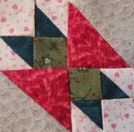 Making a little quilt pattern