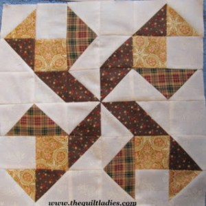 How to piece the quilt pattern walking pinwheel