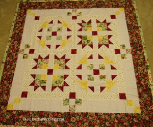 Two Block Quilt Pattern by The Quilt Ladies
