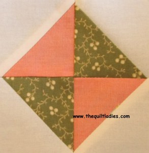 Simple Triangle Combination Quilt Pattern Block