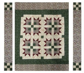 bears paw quilt pattern