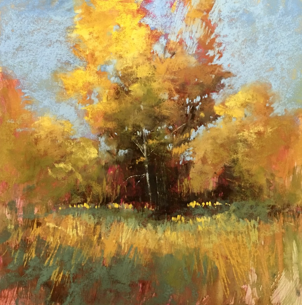Golden Afternoon - Fine Art Giclee | Bethany Fields Contemporary Impressionsm