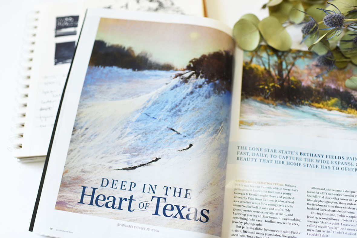 Bethany Fields Pastel Journal Article