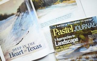 Bethany Fields Pastel Journal