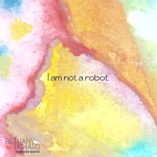 I am not a robot.